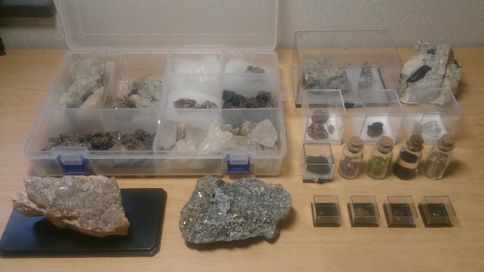 採集 鉱物
